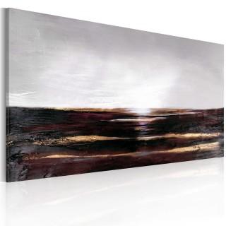 Χειροποίητα ζωγραφισμένος πίνακας - Black ocean