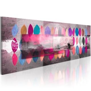 Χειροποίητα ζωγραφισμένος πίνακας - Color trends