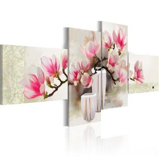 Χειροποίητα ζωγραφισμένος πίνακας - Fragrance of magnolias