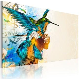 Πίνακας - Bird's music