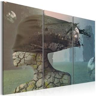 Πίνακας - Brainstorm - triptych