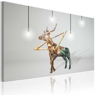Πίνακας - Golden deer