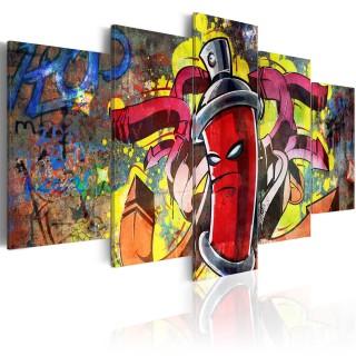 Πίνακας - Angry spray can