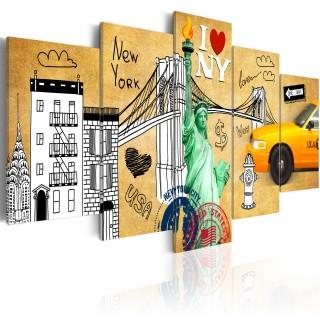 Πίνακας - I love New Jork City