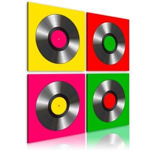 Πίνακας - Vinyls: Pop art