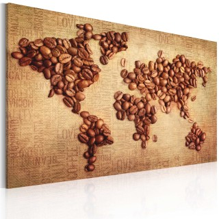Πίνακας - Coffee from around the world
