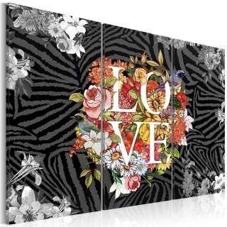 Πίνακας - Flowers from the heart