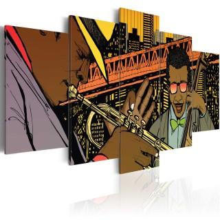 Πίνακας - Jazz in comic