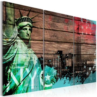 Πίνακας - NYC collage II