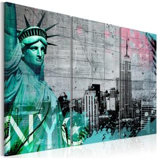 Πίνακας - NYC collage III