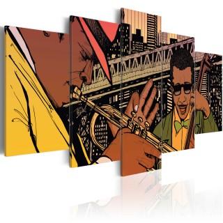 Πίνακας - Jazzy NYC