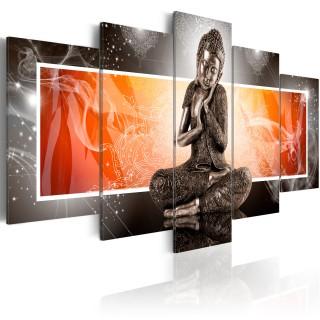 Πίνακας - Buddha and ornaments