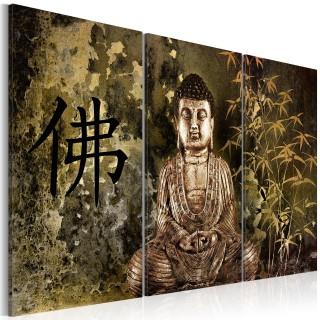 Πίνακας - Buddha statue