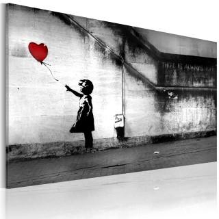 Πίνακας - hope (Banksy)