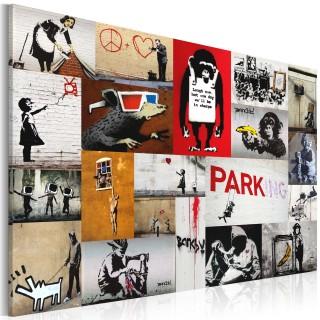 Πίνακας - Banksy - collage