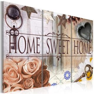 Πίνακας - Home in vintage style