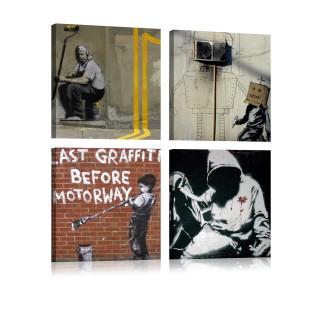 Πίνακας - Banksy - Street Art