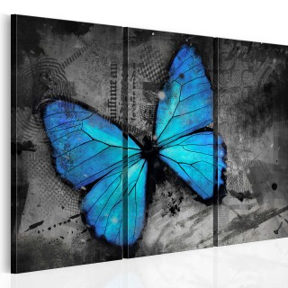 Πίνακας - The study of butterfly - triptych