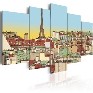 Πίνακας - Idyllic parisian picture