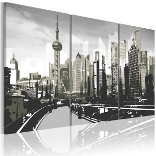 Πίνακας - Grey Shanghai