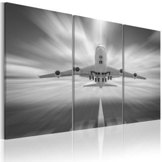 Πίνακας - Towards the clouds - triptych