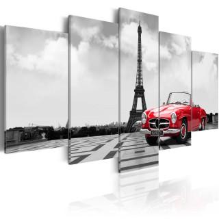 Πίνακας - Parisian car