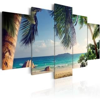 Πίνακας - Under palm trees