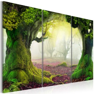 Πίνακας - Mysterious forest - triptych