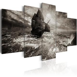 Πίνακας - Ship in a storm