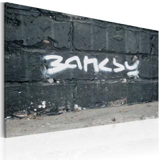 Πίνακας - Banksy: signature