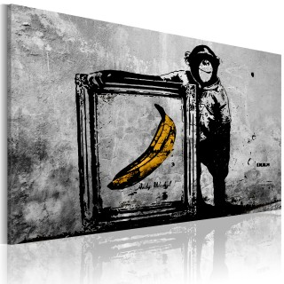 Πίνακας - Inspired by Banksy - black and white