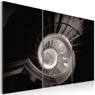 Πίνακας - Down a spiral staircase