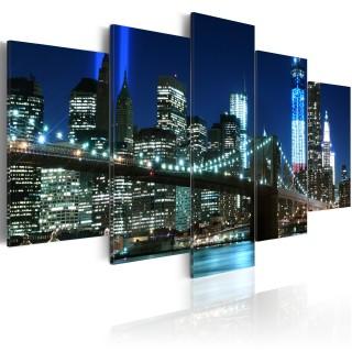 Πίνακας - Blue NYC