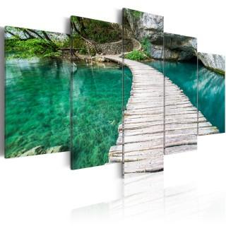 Πίνακας - Turquoise lake