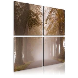 Πίνακας - Foggy alley