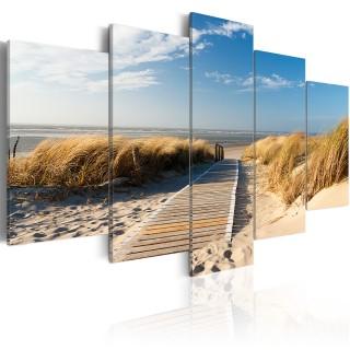 Πίνακας - Unguarded beach - 5 pieces