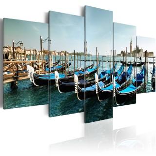 Πίνακας - A canal in Venice