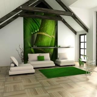 Φωτοταπετσαρία - bamboo - detail