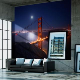 Φωτοταπετσαρία - Golden Gate Bridge at night