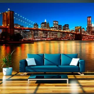 Φωτοταπετσαρία - Dusk over the Brooklyn Bridge