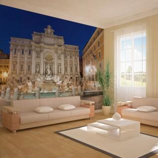 Φωτοταπετσαρία - Trevi Fountain - Rome