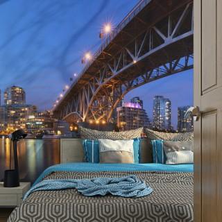 Φωτοταπετσαρία - Granville Bridge - Vancouver (Canada)