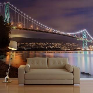 Φωτοταπετσαρία - Lions Gate Bridge - Vancouver (Canada)