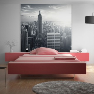 Φωτοταπετσαρία - Amazing view to New York Manhattan at sunrise