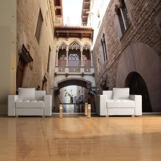 Φωτοταπετσαρία - Barcelona Palau generalitat in gothic Barrio