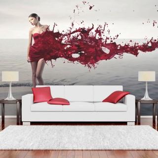 Φωτοταπετσαρία - Red beauty