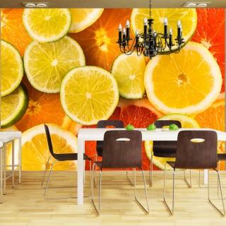 Φωτοταπετσαρία - Citrus fruits