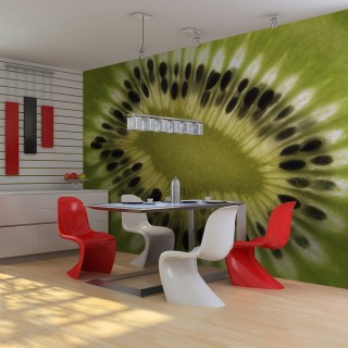 Φωτοταπετσαρία - fruits: kiwi