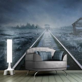 Φωτοταπετσαρία - The ghost train