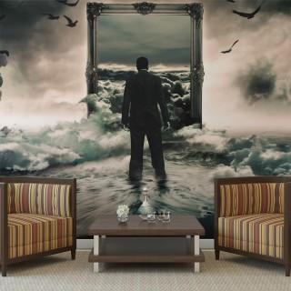 Φωτοταπετσαρία - A walk in the clouds